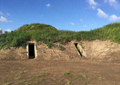 Fort-Buitensluis-Bergplaatsen-voor-munitie-uit-de-Tweede-Wereldoorlog