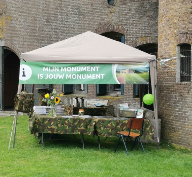 Fort Buitensluis mijn monument is jouw monument