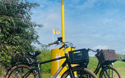 Duurzaam je fiets opladen bij Fort Buitensluis