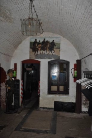 Bomvrije kazerne ruimte 2 Fort Buitensluis